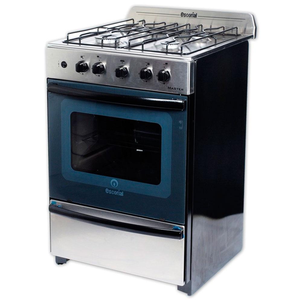 Cocina escorial master full acero inox a gas natural sbll todo tecnolog a - Cocinas a gas natural ...